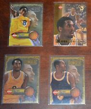 KOBE BRYANT COLLECTOR'S EDGE LOT OF 4 COOL BASKETBALL CARDS LOS ANGELES LAKERS