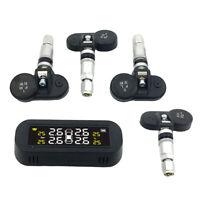 Solare USB TPMS LCD Auto Sistema di Monitoraggio Della Pressione Dei Pneumatici