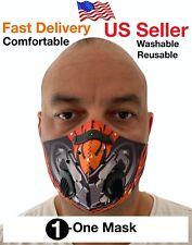Face Mask , with pocket filter , Unisex, Mouth Mask , Washable, Reusable , Mask