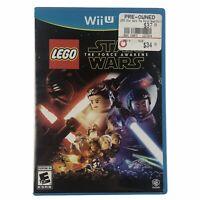 LEGO Star Wars: The Force Awakens (Nintendo Wii U, 2016) Complete w/Manual CIB