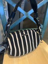KATE SPADE Black & Tan Leather Handbag   Barely Used