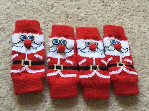 Small Dog, Christmas, Leg Warmers, Santa/Father Christmas