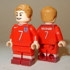 **NEW** LEGO Custom Printed DAVID BECKHAM #7 Soccer / Football Star Minifigure