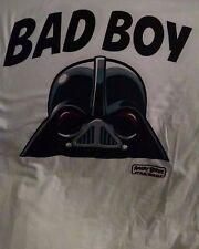 Bad Boy-Darth Vader Evil Birds T-shirt White one sided  LARGE