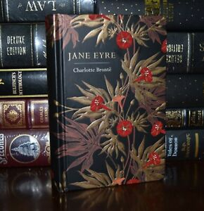 Jane Eyre by Charlotte Bronte  New Deluxe Hardcover Classics Gilt Edge