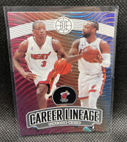 Dwyane Wade Career Lineage Miami Heat SSP 2019-20 Panini Illusions #10