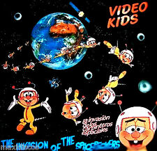 LP - Video Kids - La Invasión De Los Carpinteros Espaciales (SPANISH EDIT. 1984)