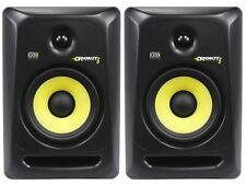 "(2) KRK RP6-G3 Rokit Powered 6"" Studio Reference Monitor RP6G3 Active Speaker"