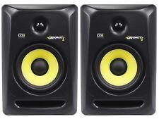 """(2) KRK RP6-G3 Rokit Powered 6"""" Studio Reference Monitor RP6G3 Active Speaker"""