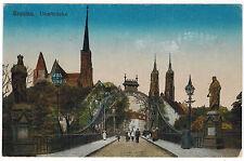 Dome Bridge in Breslau/Wroclaw, Germany/Poland, 1918 via German Fieldpost