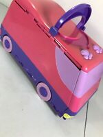Vintage Pound Puppies Van Opens To Circus Playground  Play 1995 Van Only NO PETS
