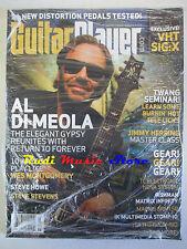GUITAR PLAYER Magazine SEALED Lug 2008 Al Di Meola Steve Stevens J,Herring NO cd