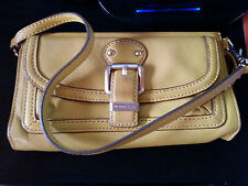 Michael Kors Wallet Clutch in Mustard Yellow
