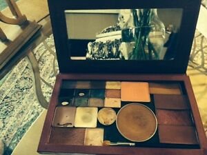 Magnetic refillable cosmetic pallette