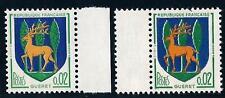 VARIETE  N°:1351 (cerf jaune + cerf orange )- BDF-  Gueret - Neuf**