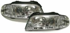 Clear finish facelift projector headlights front lights for Audi A4 B5 99-01