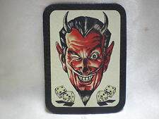 Leather Patch Devil Dice For Biker Leather Jackets & Vests Made In The U.S.A