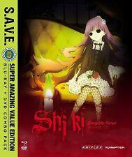 Shiki Corpse Demon Death Spirit: Complete Anime Series BluRay/DVD Combo NEW!