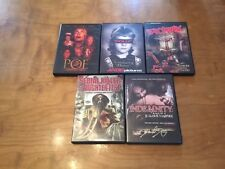 Low Budget Horror Lot DVD's *5 Movies*Polly &Tales of Poe & Sodomaniac*Obscure*