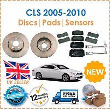 For Mercedes CLS 320 CDi Diesel 2005-2010 Front Brake Discs & Brake Pads New