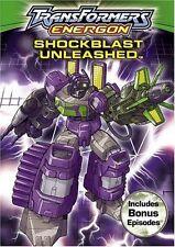 Transformers: Energon - Shockblast Unleashed (DVD, 2005) WORLD SHIP AVAIL