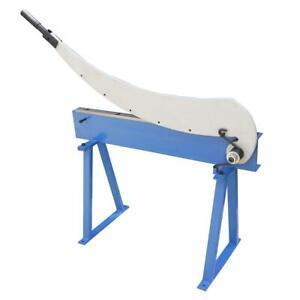 165164 Metal Sheet Lever Cropper Hand Guillotine Shear Cutter 800mm