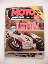 Moto Journal Mars 1977 N°307 Daytona Honda 125T