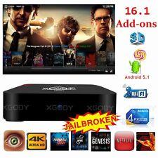 KODI 16.1 XGODY Quad Core Android 5.1 TV BOX M8SPRO 4K streaming Network WIFI HD