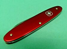 Wenger 85mm Patriot Red Alox Swiss Army Knife