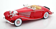 1:18 Maisto Mercedes 500K Special Roadster 1936 red