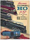 1957  Gilbert Model Railroad Catalog HO Scale Puffing Smoke and Cho-Cho Sounds