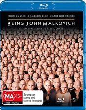 *New & Sealed*  Being John Malkovich (Blu-ray, 2011) Region B Australia OOP