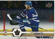 Auston Matthews 2019-20 Upper Deck Silver Foil #1 Toronto Maple Leafs EPACK SP!