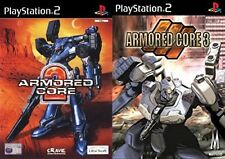 Armored Core 2 & 3 PS2 PAL