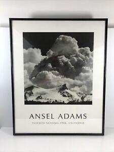 Ansel Adams Thundercloud Unicorn Peak Yosemite National Park Print Framed 16x20