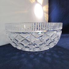 Waterford Crystal Diamond Cut Round Bowl