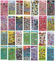 Small FOIL STICKERS - Huge Range Of Characters (School/Craft/Reward) 017006.