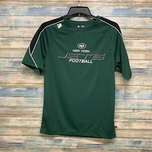 Ny Jets Women's Green NFL team Apparel Size Medium Shirt   Nwt   (E-21)