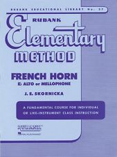 Rubank Elementary Method French Horn in F or E-Flat and Mellophone 004470070