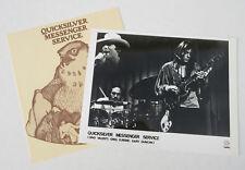 QUICKSILVER (MESSENGER SERVICE) Quicksilver 1971 Capitol Records Promo PRESS KIT