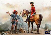 Master Box 35217 Indian Wars Series, XVIII Century. Kit № 3 Model Kit 1/35