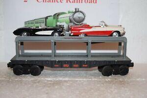 O Scale Trains K-Line Detroit Toledo Ironton Auto Carrier w/Detroit Iron