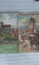 Altfränkische Bilder 1929 -  ( Kalender )  -