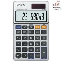 New CASIO Invader Game Calculator Dentaku LCD Game Watch SL-880-N F/S Japan