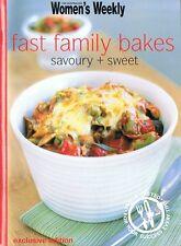 FAST FAMILY BAKES Savoury + Sweet - An Australian Women's Weekly Mini-Cookbook