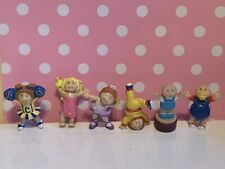 lot Vintage Cabbage Patch little small Dolls Action Figure Toys plastic 1984 2""