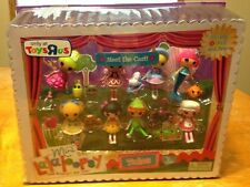 NEW MINI LALALOOPSY MEET THE CAST FAIRY TALES SET MINI DOLLS CORAL SEA SHELLS+