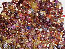 Ruby sapphire gem rough mix Madagascar small pieces mixed color 1/8 pound lots