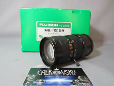 FUJINON ZOOM 1.2/12.5-75mm C-MOUNT LENS  for 16MM MOVIE CAMERA + DIGITAL