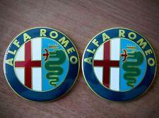 2 PEZZI Stemma ALFA ROMEO  Giulietta 147 159 Logo Fregio Emblema